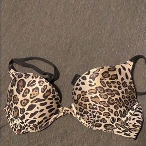 Cheetah push up bra